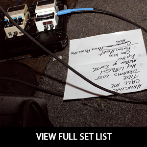 Blacktye Set List
